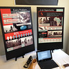2014-04-16 - Seven Steps Team poster boards at Seattle Pacific University social venture competition