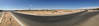 2014-06-17 - Rio Rancho - Panorama from the north side of the site with Presbyterian Rust Medical Center in the background