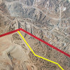 2014-06-19 - Placitas - Lafarge aerial - Zoom into to northeast edge of site and yellow setback boundary