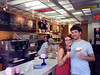 2014-08-13 - Sarah Elizabeth Probst and Paul Allen Oliver - Ice cream in Brooklyn (Photo by Blake Thomas Oliver)