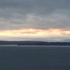 2014-01-28 - Gray clouds and slate gray water - Seattle, WA, USA