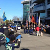 2014-02-05 - Super Bowl Parade Color Guard