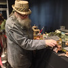 2014-01-20 - Model railroader at the Seattle train show