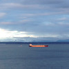 2014-02-05 - Grain ship and clouds on Elliott Bay in Seattle