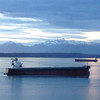 2014-03-07 - 2801 Western Ave, Seattle, WA, USA - Grain ships in the late afternoon light