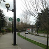 2014-04-10 - Pedestrian, bicyle, motor vehicle street in Vancouver, BC, Canada