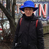 2014-03-08 - Rosemarie Oliver in the blue rainhat - Belltown, Seattle, WA, USA