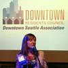 2014-04-29 - Linda MItchel at DSA Residents Council event