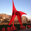 2014-03-23 - Calder sculpture with Olympus and other apartments in the background - Seattle, WA, USA