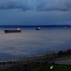 2014-02-04 - Grain ships and clouds