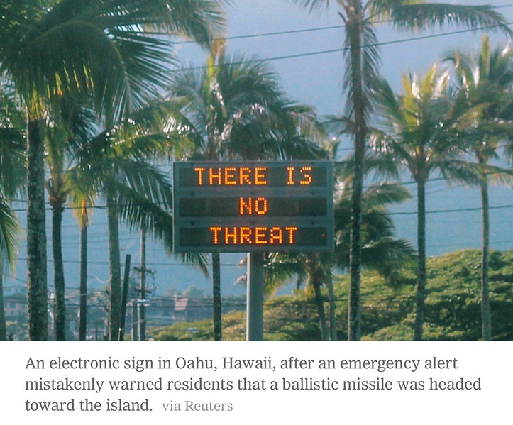 2018-01-13 - There Is No Threat (in Hawaii)