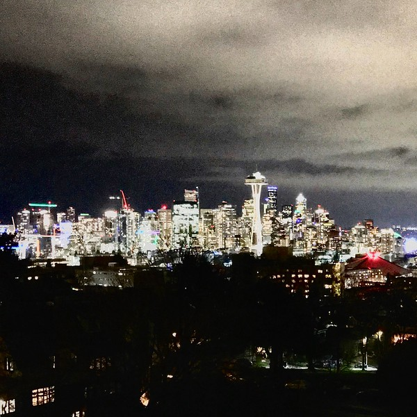 2017-01-18 - Downtown Seattle from Kerry Park on Queen Anne Hill