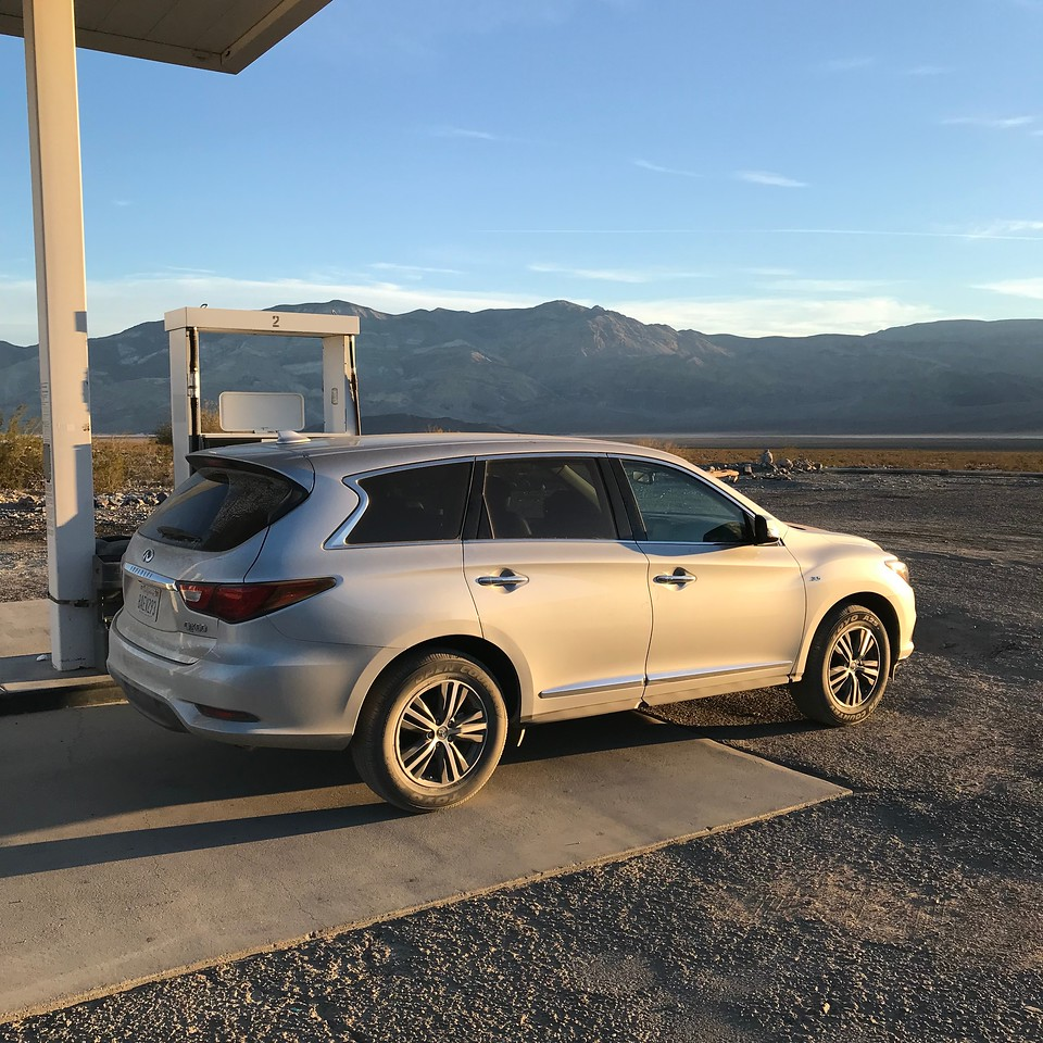 """2018-01-04 - Photo 02 - Death Valley - The """"Beast"""" rental SUV"""