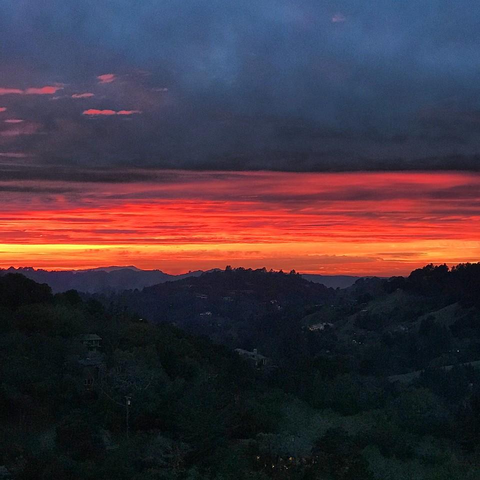 2018-01-07 - Photo 10 - Sunset in Orinda, CA, USA