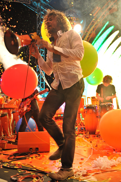 Flaming Lips frontman, Wayne Coyne