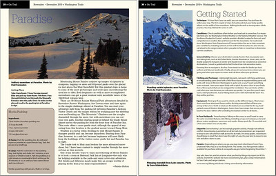 Raymaker Photography has been published in an article in Washington Trails Magazine.  The article features several favorite snowshoe locations in Washington by avid snowshoers as well as some basic tips to get started.  It's a great article and perfect timing for the approaching winter season.  You can read it here.  Check it out and support the Washington Trails Association!