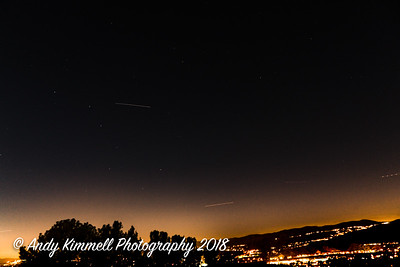 ISS over the Big Dipper