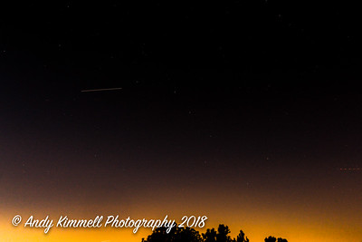 ISS approaching the Big Dipper