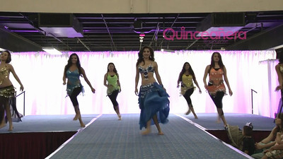 Quinceanera Magazine Expo July 2012 Queen Mary Long Beach CA.