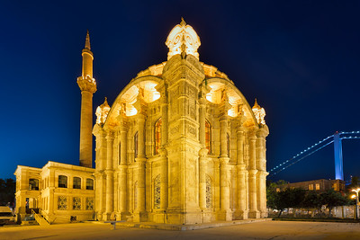 Ortakoy Mosque at Dusk, Istanbul