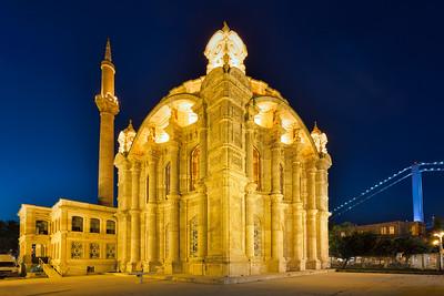 Ortakoy Mosque at Dusk, Istanbul