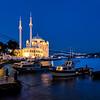 Ortakoy Mosque on Bosphorous, Istanbul