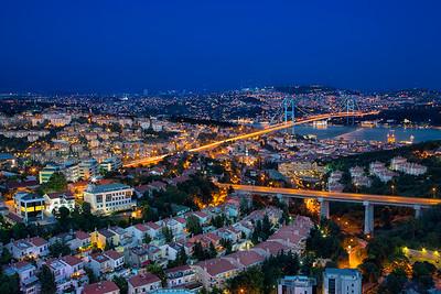 Connecting Asia to Europe - Bosphorus Bridge