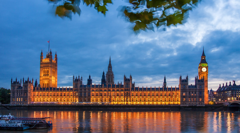 Big Ben & Westminister Palace, London