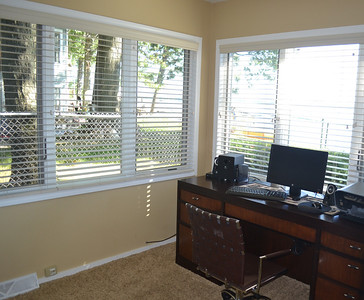 Second bedroom - beautiful naturally lighted room with spectacular views, currently being used as an office.