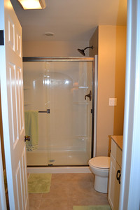 Master suite private full bathroom completely remodeled in 2010.