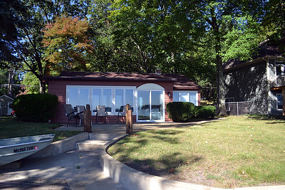 Front of home facing Austin Lake.