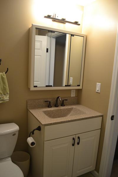 Master suite private full bathroom.