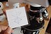 Microscopicology logo original pen sketch zeiss pol z objective