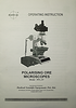 Radical_RPL-3T_polarizing_microscope_user_manual_cover_page