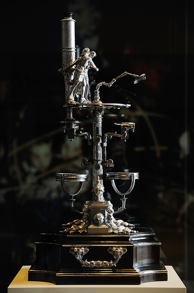 Universal Double Microscope 1763 George Adams Object no. 1949-116 Science Museum London