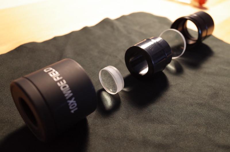 microscope kellner eyepiece ocular optics lenses