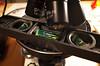 polarizing microscope rotating stage goniometer spirit level