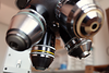 Zeiss Pol Z microscope objective centering ring turret