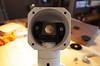Radical microscope epi illuminator half mirror
