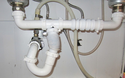 The Jackleg way to pipe in Kitchen Drain