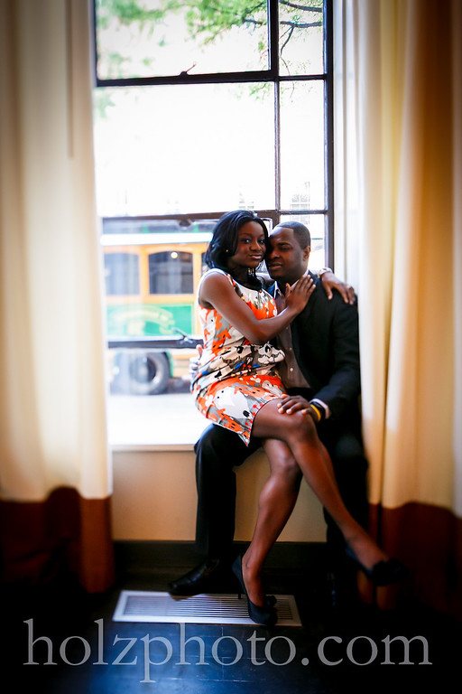 engagement photos Downtown louisville kentucky