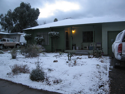 Snow in Redlands