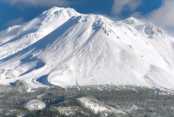 Mt. Shasta (and Shastina)