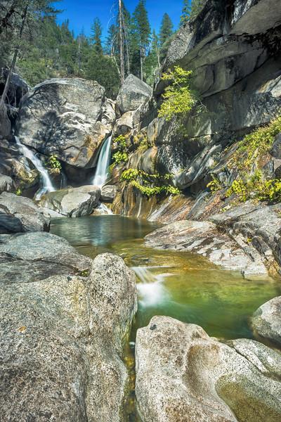 Rock Creek Falls, Feather River Canyon, Plumas County, CA