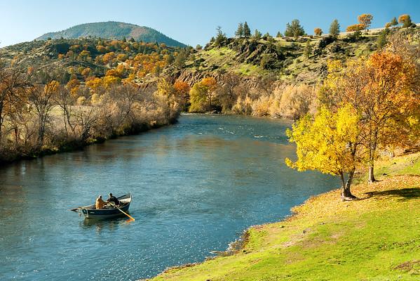 Klamath River below Black Mountain, Siskiyou County, CA
