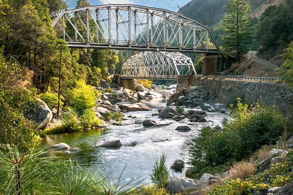 Tobin Bridges, Feather River Canyon, Plumas County, CA