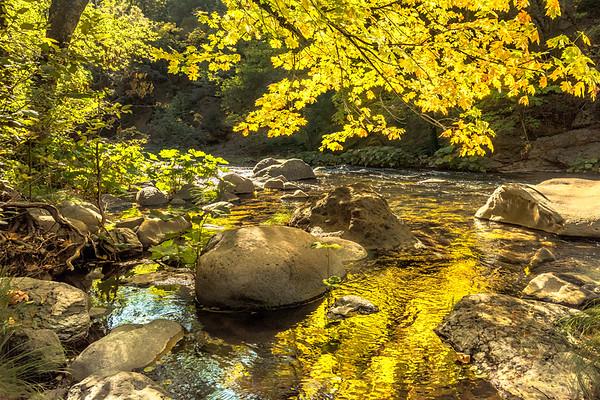 Deer Creek in October, Tehama County, CA