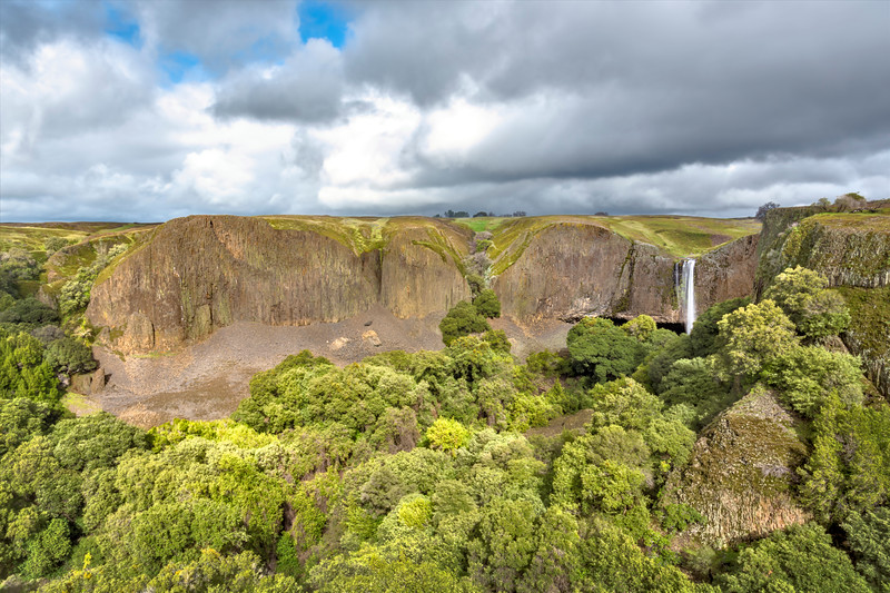 Phantom Falls and Coal Canyon, Table Mountain Ecological Reserve, Butte County, CA