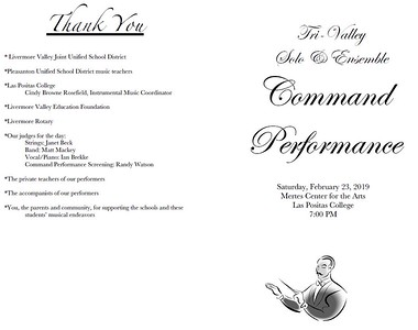 Command Performance Program - Front and Back Covers 190223