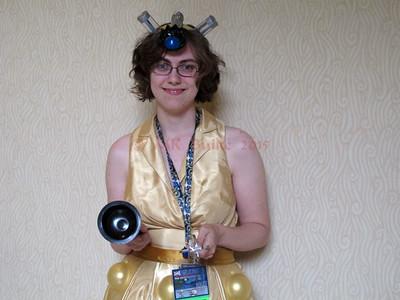 Kristen W's homemade Dalek costume!